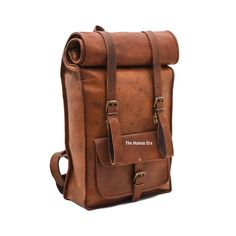 Leather Trekking Bag